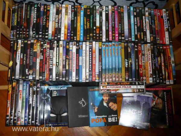 Bombaáron, 29.990.- forintért eladó a DVD gyűjteményem (~100 db) egy része. Érdeklődni dm-ben. RT-t megköszönöm! http://t.co/TEZ4GEle9I