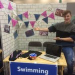 RT @TrentSwimTeam: Swimming and waterpolo stand is all set up at Clifton, looking forward to seeing you all! @NTUSport http://t.co/wMIjqKDKBs