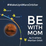 India, wake up early tomorrow - History is in the making. #WakeUp4MarsOrbiter http://t.co/qvRFfErpgL