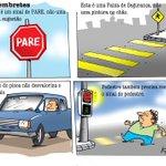 RT @zerohora: Iotti: educação no trânsito. Veja mais charges: http://t.co/KVUvkmiShb http://t.co/2Wim2E7vbK