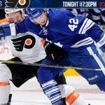 RT @MapleLeafs: Dont forget, #Leafs vs. #Flyers tonight at 7:30pm on TSN4 and @TSN1050Radio. #TMLtalk http://t.co/pd8xgEqOrf