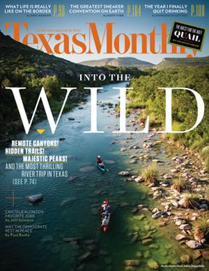 A sneak peek at our October cover: Remote canyons, hidden trails, & the most thrilling river trip in Texas. http://t.co/ftXzKnbypB