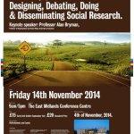 RT @ENQUIREnottm: Registration open for 7th @ENQUIREnottm conference http://t.co/SOKV8apCK0 at @UoNSociology in @UniofNottingham!! http://t.co/VMBebEyML0