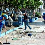 Cuadrillas del barrido manual mantienen constantes operativos de limpieza en Porlamar! @alfreditodiaz http://t.co/5PLYQJzTtG