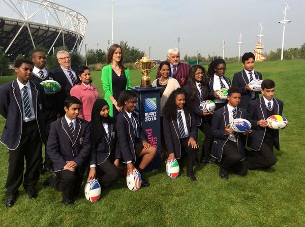 RT @SophieLJMorris: At the @olympicstadium launching @EnglandRugby Host City Hub Schools as we count down 1 yr to go #RWC2015 #LEGACY http://t.co/mQmgmVWwXs