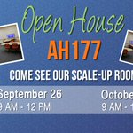THIS FRIDAY Sep 26! Open House in AH177 from 9am-12pm, Ribbon Cutting at 10:30am!#scaleup #pbl #uleth @ulethbridge http://t.co/V8biTxwlga