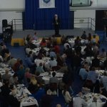 RT @UofLPronghorns: Brian Burke addressing the crowd at the Pronghorn Scholarship Breakfast #uleth #horns http://t.co/dJe7ufVbat
