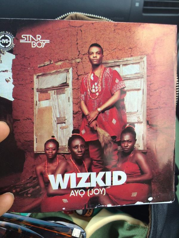 Got my copy of  @wizkidayo 's new album