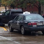 RT @SCJMollyM: Taxi driver taken to hospital to be checked for injuries, says #SiouxCity police @scj #sux911 (7th/Douglas Sts) http://t.co/p1VbkI82Aw