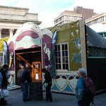RT @DrTerryLamb: Lovely day in Sheffield for a visit to @FestivalMind in the amazing Spiegeltent and Castle House http://t.co/QxDqc9pSOG