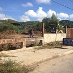 Sustitución tramo colector de cloacas quebrada Birigutti al Sector Palguarime. @alfreditodiaz #Porlamar http://t.co/li0TqiueY3