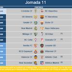 RT @LaLiga: MODIFICACIÓN   El @valenciacf - @AthleticClub y el @SevillaFC - @LevanteUD de la jornada 11 cambian de horario: http://t.co/3dFjUXeZOz