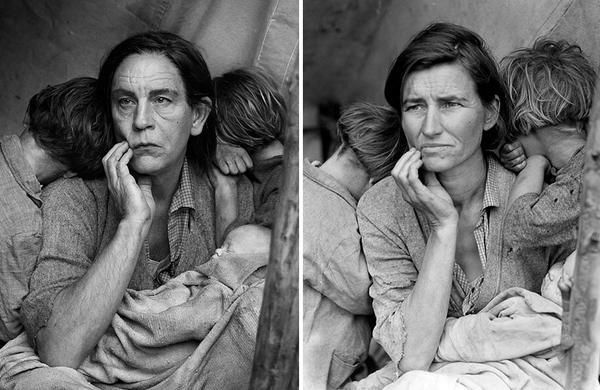 Photographer recreates iconic photos with John Malkovich as the main subject http://t.co/3U4h2D3mgJ http://t.co/DFwxTPvA3Q