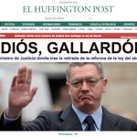 RT @ElHuffPost: #ÚLTIMAHORA Alberto Ruiz Gallardón dimite como ministro de Justicia http://t.co/kQXq5HXqPT http://t.co/lQTlLMhQ0p