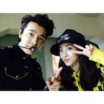 RT @allkpop: Dara visits long-time friend Donghae at Super Show 6 http://t.co/43qHZG2pux http://t.co/kHhUnWQI1u