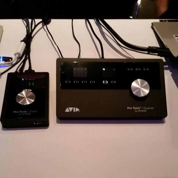Come by our booth at @A3E_Event & see our new babies w/ our partnership with Apogee. #Protools #Duet #Quartet http://t.co/1sBh6FeEmJ