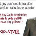 RT @DavidSernaGil: La ultraderecha se moviliza contra el Gobierno de Rajoy en repulsa a la retirada de la Ley del Aborto de Gallardón. http://t.co/4cZrPeF3NL