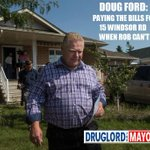 """#TOpoli Doug Ford: taking care of """"family business"""" in the neighbourhood. http://t.co/vbLACygh5Z"""
