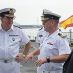 RT @greatbigseas: NATO MARCOM Vice Admiral Hudson listens intently to his young commanders #HMCS #Toronto experiences in the Black Sea http://t.co/NbDAqT01wB
