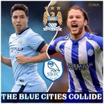 Wednesday THE BLUE CITIES COLLIDE Manchester City v Sheffield Wednesday @CapitalOne_Cup #CapitalOneCup #MCFC #SWFC http://t.co/iBOF1IS0LB