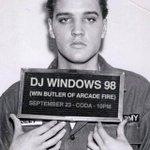 "RT @BeyondTheDrop: Win Butler aka ""DJ Windows 98"" of @arcadefire is doing a special DJ Set at @codatoronto tonight in #Toronto http://t.co/SteCtvKpYQ"