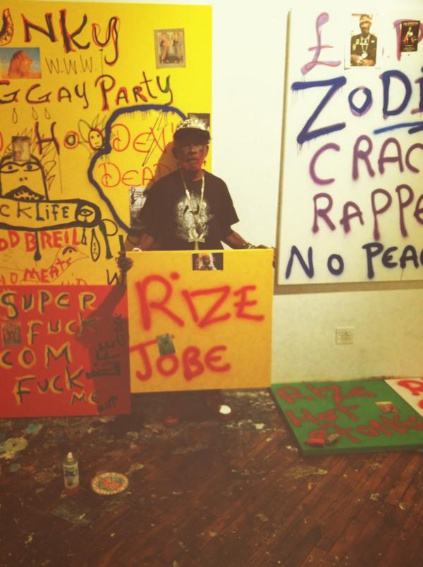 lee scratch perry: master artist? come to his gallery opening TONIGHT. @DubChampions http://t.co/BIbDZII7HA