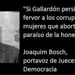 RT @JuanLuisOrtegaG: #GallardonDimision Si Gallardón persiguiera con tanto fervor a los corruptos como a las mujeres que abortan... http://t.co/LnhcLpNVyn