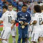 RT @DeportesGMV: Así luce @NavasKeylor en el debut como arquero del @realmadrid http://t.co/bXrnRstIhf