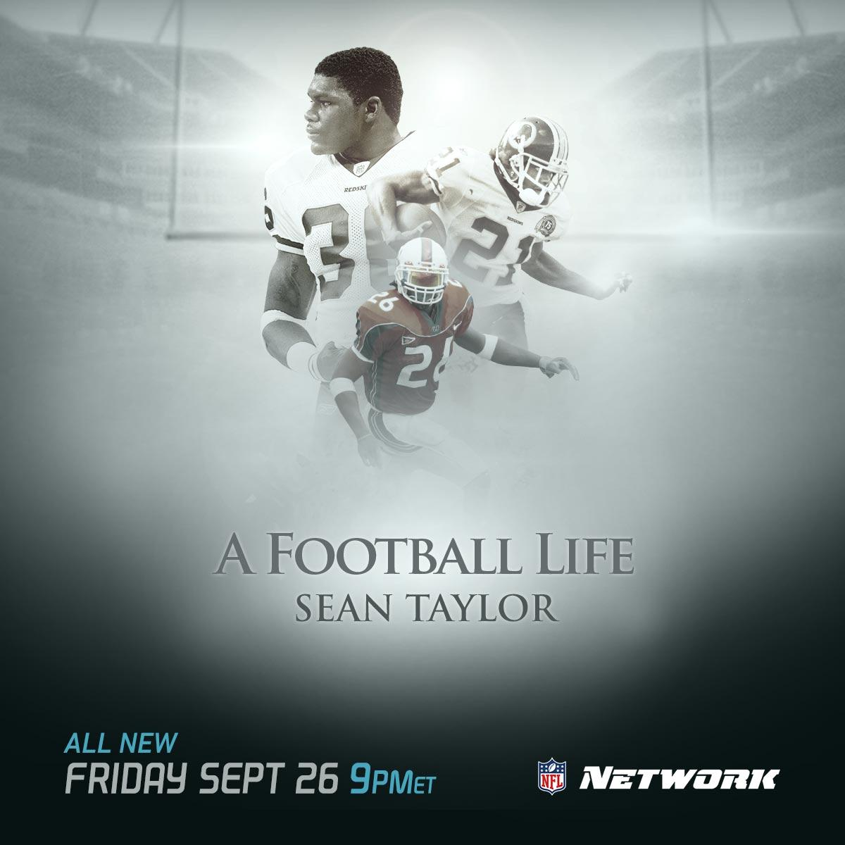 RT @Redskins: 'A Football Life' honors and remembers legendary #Redskins safety Sean Taylor this Friday at 9 p.m. on @NFLNetwork. http://t.co/25OFBODMdL