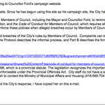 Email response from City Manager re: Ford campaign site on his City account..(now gone) #TOpoli http://t.co/6uXQexxXH1