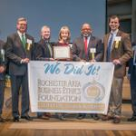 Congratulations to one of the 2014 #ETHIE recipients, Iberdrola USA - @RGandE #ROC #businessethics http://t.co/jFu3iCaobj