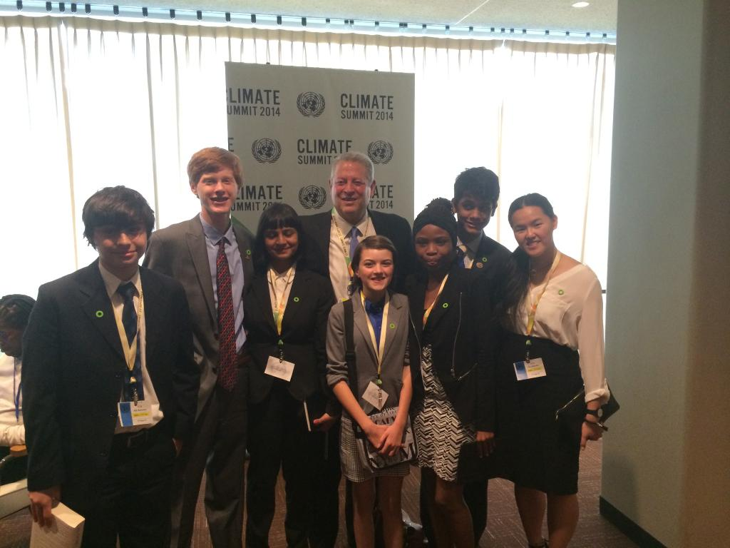 RT @algore: These young #WhyWhyNot leaders give me #ClimateHope! What an extraordinary group at the @UN #Climate2014 summit: http://t.co/f9?