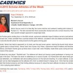 Congratulations to @HopeDaddario from @IlliniSoccer on being named #Illini Scholar-Athlete of Week for Sept. 15-21! http://t.co/P558i9FChW