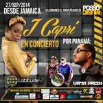 RT @MiDiarioPanama: 27 de septiembre @JCapri_HCR en Panamá. @LaSectaCrew @SelectaCatboy @djrudypanama @LatinFresh507 @PossoMusic http://t.co/aXGbsduh5t