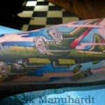 RT @SteadfastRoc: #b29 #superfortress #tattoo by #erikmannhardt at #steadfasttattoo #roc #rochester #rochesterny http://t.co/TexB0OrTpP