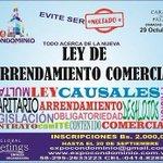 TALLER NUEVA LEGISLACIÓN #ARRENDAMIENTO COMERCIAL* 29 de Octubre* #Caracas @expocondominio http://t.co/5cfLoadhM3 http://t.co/b1h1hAQAsk
