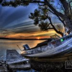 RT @JamesMontanus: Vintage boat taken with vintage Nikkor 16mm fisheye. #Roc #LakeOntario #GreeceNY #Nikon #HDR http://t.co/nFF0cTfkPz