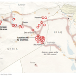 Map: The airstrikes against #ISIS in Syria http://t.co/jXpPtBk7vZ  http://t.co/QiZ6TcLFVQ #nytimes #Syria