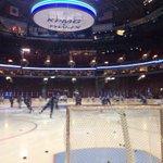 Pre-game skate is underway at @RogersArena. #Canucks http://t.co/zAnjI5t9ld