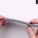 The iPhone 6 Plus can be bent with your bare hands. http://t.co/Qm2kgBfNXe