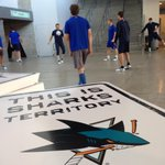 RT @VanCanucks: Over in California, the #Canucks are warming up (in Sharks territory). #Stockton http://t.co/CmVnuVqIxW