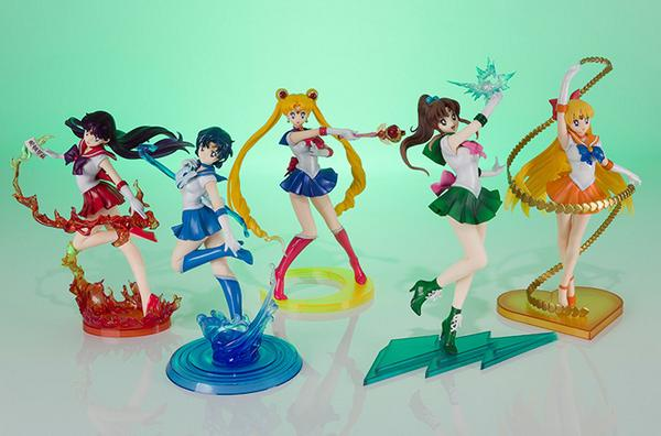 Wow!! All #SailorMoon Inner Senshi Figuarts look amazing together! So colorful and amazing! http://t.co/miK2Yw9LOE