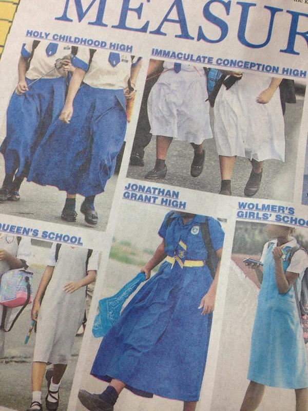 Overly long skirts will not prevent early sex & teenage pregnancies. #Teachers needs to focus on real issues. http://t.co/niXy69Ynbt
