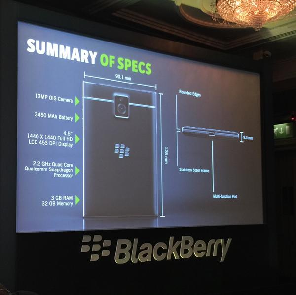 All the specs for @BlackBerry Passport. Night and day from the traditional BlackBerry of yesteryear... http://t.co/MxS0LFbqZx