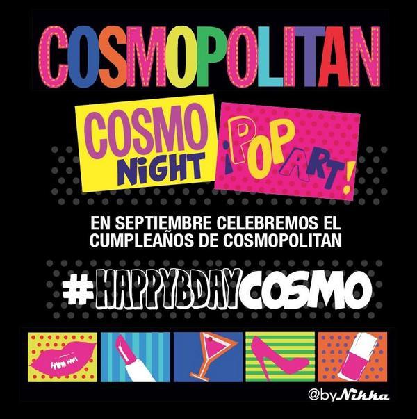 #CosmoPopArt una noche al estilo #Cosmopolitan @gye no te lo pierdas! #hbdcosmo #cosmonight http://t.co/KIby0uKRfv
