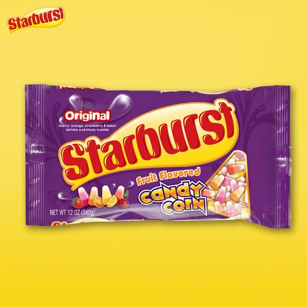 Zip up your puffy vest and get off that hayride: it's Starburst Candy Corn time! http://t.co/BQ3zvKv4xh