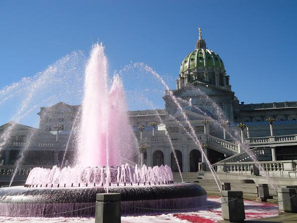 Turn the State Capitol Fountain #PINK with us & kick off #BreastCancer Awareness Month! http://t.co/bSjd054k7H http://t.co/1EqzP83jZC