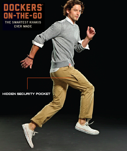 Avoid #bendgate with our hidden security side pocket. Smart phone, meet the #SmartestKhakis ever made. http://t.co/Eb2bvg6fcS