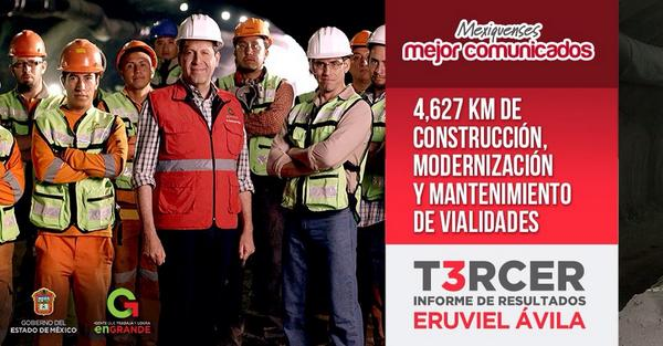 RT @elimon8p: Más de 4 mil kilómetros de construcción, modernización y mantenimiento de vialidades http://t.co/zW7oDvyDp2