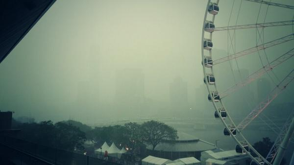 """Hello, police? I'd like to report the attempted theft of a city."" #bnestorm http://t.co/zkCeDaXb2z"